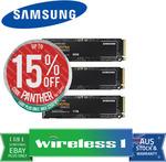 [eBay Plus] Samsung 970 EVO Plus 500GB M.2 NVMe V-NAND SSD $143.65 (after Cashback $121.65) Delivered @ Wireless1 eBay