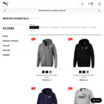 Hoodies $35, Sweatpants $35 + Shipping (Free with $100+ Spend) @ PUMA