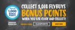 1000 Bonus Flybuys Points (Worth $5) with $20 Click & Collect @ First Choice Liquor