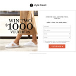 Win Two $1,000 Vouchers from Styletread