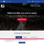 NBA Annual League Pass 2019-2020 Season L1200 (~$71 AUD) @ NBA.com (VPN Req.)