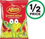 ½ Price Allen's Medium Bags 150-200g $1.50 | ½ Price Cadbury Dairy Milk/Marvellous Creations Blocks 162-190g $2.40 @ Woolworths
