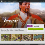 [PC] DRM-free - Emperor: Rise of the Middle Kingdom - $3.99 AUD - GOG