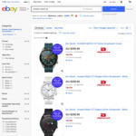 Huawei Watch GT Active, Elegant or Stainless Steel $220 + Delivery ($0 with eBay Plus) @ Allphones eBay