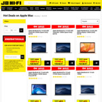 10% off Apple Mac @ JB Hi-Fi