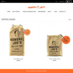 Free Shipping for Coffee Beans Orders over $50 @ Mogrel Joes