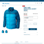 68% off Columbia Mens Pike Lake Jacket XL/XXL $90 + Delivery ($0 with $99 Spend) @ Columbia Sportswear