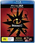 Incredibles 2 3D + Blu-Ray $3.25 + Delivery (Free with Prime) @ Amazon AU