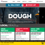3 Large Traditional/Veg Planted Based Pizzas + 2x 1.25L Drinks & 2 Garlic Breads | $35.95 Delivered or $30.95 Pickup @ Domino's