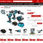 Makita DLX2176TX2 18V 5.0ah Li-Ion Cordless Brushless 2pce Combo Kit $469 @ Sydney Tools