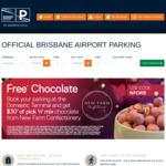 [QLD] Free Chocolate (Worth $30) When You Book Your Parking at Brisbane Airport Domestic Terminal