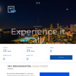 [QLD] Sky Broadwater Gold Coast, Opening Deals from $875 for 7 Nights during April in a 1BR Apartment