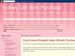 David Jones Elizabeth Arden Gift with Purchase (Worth up to $222) with Purchase over $70