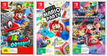 [Switch] Super Mario Odyssey with Super Mario Party & Mario Kart 8 Deluxe $176.76 Delivered @ The Gamesmen eBay