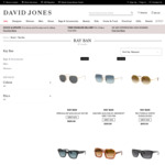 40% off Ray Ban Sunglasses @ David Jones