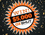 Win $5,000 Worth of Fully Installed Roller Shutters from Ozshut [Perth Metro]