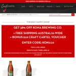 Kona Brewing Pale Ale & IPA (24 x 355ml BTLS) $59 (Save $36) + Free Delivery + $10 Voucher @ Craft Cartel