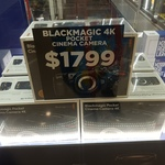 Blackmagic Pocket Cinema Camera 4K $1799 @ Top Ryde Camera House