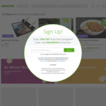 10% off Sitewide @ Groupon (Stack with 15% Cashback @ Cashrewards)