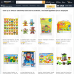 Play-Doh & PlaySkool 10-30% off + Delivery ($0 for Prime Members / $39 Spend) @ Amazon AU