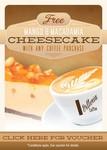 FREE Mango & Macadamia Cheesecake With Any Coffee Purchase