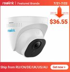 Reolink RLC-520 5MP Poe IP Security Camera Indoor/Outdoor US$40.21 (Was US$49.99) ~ A$56.67 @ Reolink via AliExpress