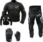 Men's Draft Bundle Motorcycle Leathers - Jacket, Pants, Gloves $221 Delivered (Was $450, Possible Price Error) @ Shark Leathers