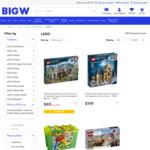 20% off LEGO (20% off Toys), Selected PS4 Hits $17, [Switch] Super Mario 3D All Stars $69 @ Big W