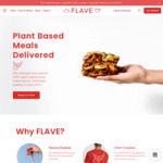 [NSW, VIC, ACT] 7 Plant Based Meals $15 Delivered at Flave