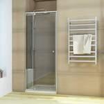 Semi-Frameless Shower Screen Pivot Door from $235.90 (10% off) @ Elegant Showers