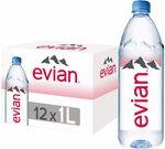 [Prime] Evian Water 12x 1L $19.00 Delivered @ Amazon AU
