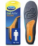 Scholl GelActiv Insoles $14 + Delivery ($0 with Prime/ $39 Spend) @ Amazon AU