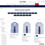Extra 20% off Outlet (Shirts from $30) + $20 Delivery @ T.M. Lewin