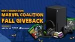 The Marvel Coalition Fall GIVEBACK || Win Xbox Series X Bundle