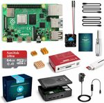 Raspberry Pi 4 Complete Starter Kit with Pi 4 Model B 4GB RAM / 64GB MicroSD Card $125.44 Delivered @ Globmall AU Amazon