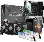 AMD Ryzen 9 5900X + RX 6900 XT + 16GB Ram + X570 Motherboard $3169 @ PC Byte