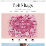 20% off Sitewide with Minimum $30 Spend + $5 Delivery ($0 with $50 Spend) @ BeltNBags