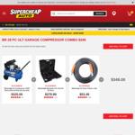 Black Ridge 28 Piece Ultimate Compressor Combo $349 C&C /+ Delivery @ Supercheap Auto