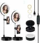 25% off Portable Ring Light Mirror with Phone Holder $20.25 + Delivery ($0 with Prime/ $39 Spend) @ HH-Electronics Amazon AU