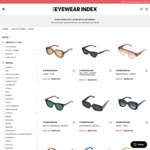 Up to 80% off Sunglasses & Optical Frames @ Eyewear Index