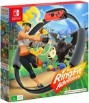 [Switch] Ring Fit Adventure $89, Nintendo Switch Mario Red & Blue Edition Console $398 Delivered @ Amazon AU
