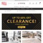 Extra 15% off + Delivery ($0 with $300 Spend) @ Rugs Online