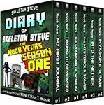 [eBook] Free - Minecraft Diary of Skeleton Steve the Noob Years Season 4 + 6 more books/Lily Lemon Blossom - Amazon AU/US