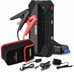GREPRO Car Jump Starter 1500A 18000mAh, 12V Auto Battery Booster Dual USB QC3.0 $76.69 Delivered @ Grepro via Amazon AU