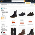 Dr. Martens Shoes from $76.88 Delivered @ Amazon AU