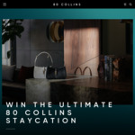 Win a Melbourne Staycation Valued at $2400 from 80 Collins