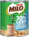 [WA, TAS] Nestle Milo 30% Less Added Sugar 395g $1.40 @ BigW