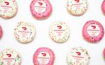 Free 4 Pack Limited Edition Birthday Doughnuts with $10 Minimum Purchase ($2 Delivery Fee Applies) @ Krispy Kreme via DoorDash