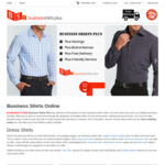 10% off Store Wide @ Business Shirts Plus