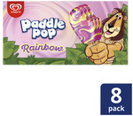 ½ Price Streets Paddle Pop 8 Pack $3.50 @ Coles